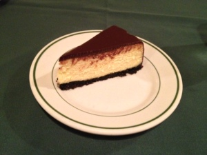 The only thing that beats this cheesecake is this cheesecake plus a butt-cheek question