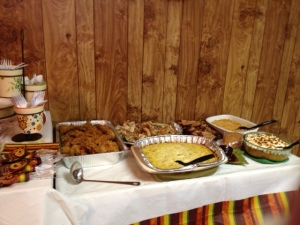 Just some of the treats to be had at one of our reunions