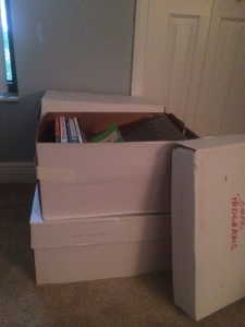If only the books in that box had my name on them ...